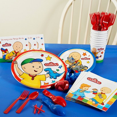 Caillou Party Pack for 8 - Multicolor