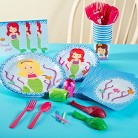 Mermaids Party Pack for 16 - Multicolor