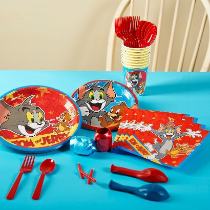 Tom and Jerry Party Pack for 16 - Multicolor