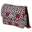 The Bumble Collection Amber Diaper Bag Tote - Royal Ruby