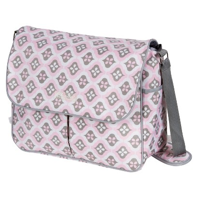 The Bumble Collection Amber Diaper Bag Tote - Sweet Blush