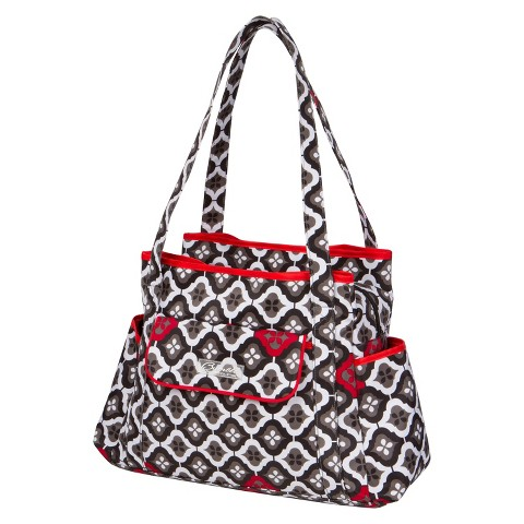 The Bumble Collection Rachel Roundabout Diaper Bag - Royal Ruby