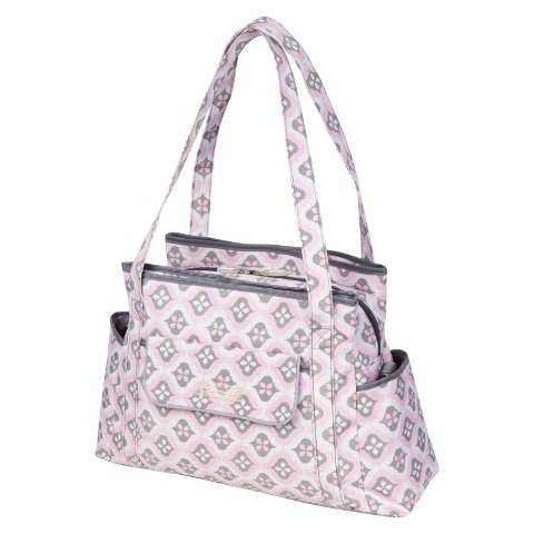 The Bumble Collection Rachel Roundabout Diaper Bag - Sweet Blush