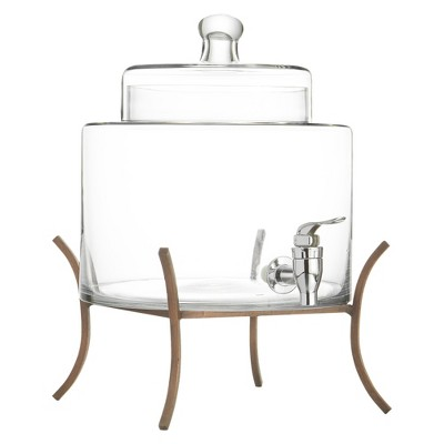 American Atelier Beverage Dispenser with Metal Stand (2 Gallons)