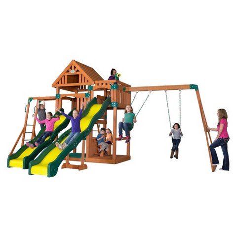 Backyard Discovery Crestwood Wooden Play Set