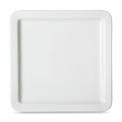 Threshold™ Casual Modern Square Salad Plate Set of 4 - White