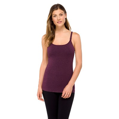 Women's Nursing Cotton Cami Wine - Gilligan & O'Malley®