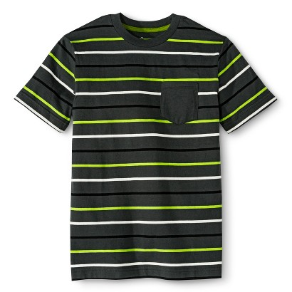 Boys' Tee Shirt - Husky  Charcoal