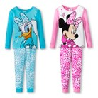 Disney&#174 Toddler Girls' Minnie Mouse & Daphne Duck 4-Piece Mix & Match Pajama Set
