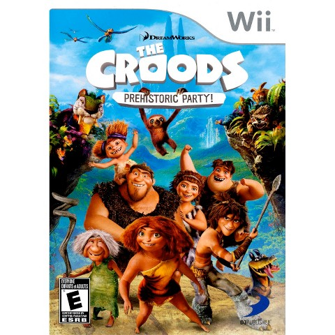 DreamWorks® The Croods: Prehistoric Party! PRE-OWNED (Nintendo Wii)