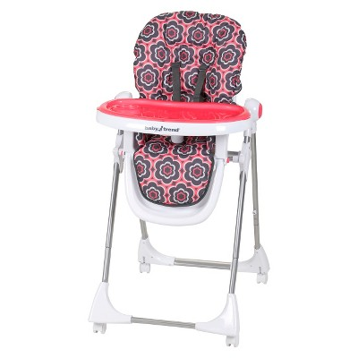 Baby Trend Aspen LX High Chair - Coral Floral
