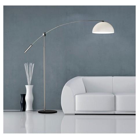 Adesso Outreach Arc Lamp - Silver