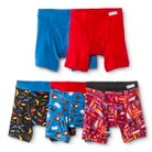 Fruit of the Loom® Toddler Boys' 5-Pack Patterned Boxer Briefs