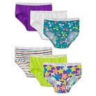Fruit of the Loom® Toddler Girls' 6-Pack Briefs