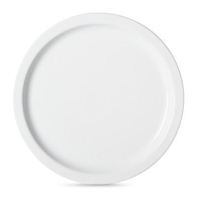 Threshold™ Casual Modern Round Salad Plate Set of 4 - White