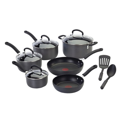 T-Fal Ultimate 12pc Hard Anodized Cookware Set