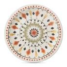 Threshold™ Medallion Melamine Appetizer Plates - Set of 8