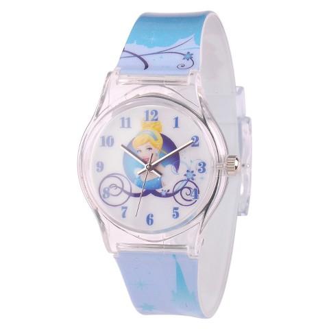 Kid's Disney® Cinderella Watch - Blue