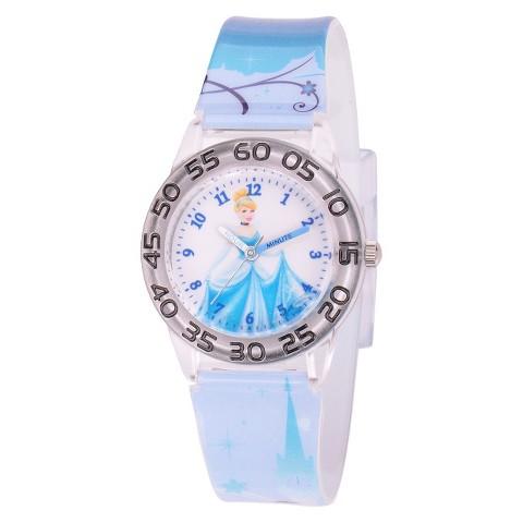 Kid's Disney Cinderella Watch - Blue