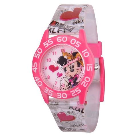 Kid's Disney Minnie Watch - Multicolor