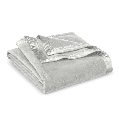 Fieldcrest® Luxury Premium Blanket - Grey Marble (King)