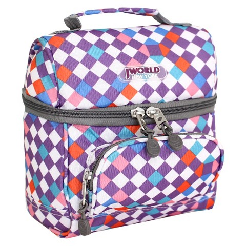 JWorld Corey Lunch Bag With Front Pocket