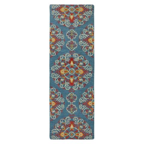 Karastan Charisma Lyric Medallion 100% Wool Rug