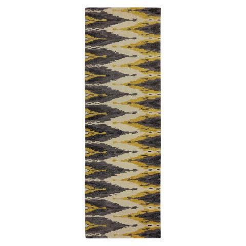 Karastan Charisma Totemic Graphite 100% Wool Rug