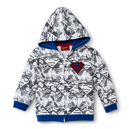 Superman Hoodie for Infant and Toddler Boys