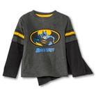 Batman Infant Toddler Boys' Long Sleeve Cape Tee