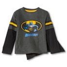 Batman Infant Toddler Boys' Long Sleeve Cape Tee