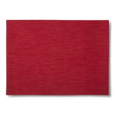 Threshold™ Pin Tuck Placemats - Red