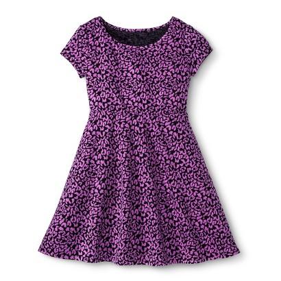 Girls' Print Tee Shirt Dress