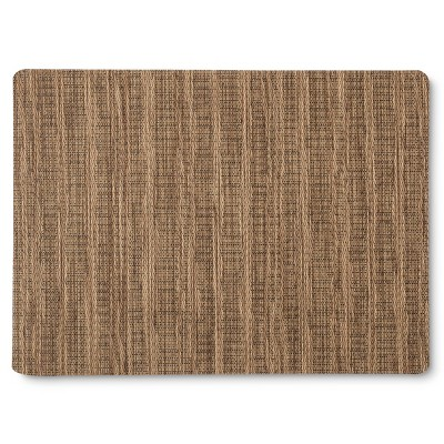 "Threshold™ 4 Pack Woven EVA Placemat Natural - Brown (14""X19"")"