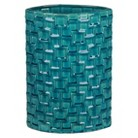 Geometric Pattern Ceramic Vase Aqua- 14.5""