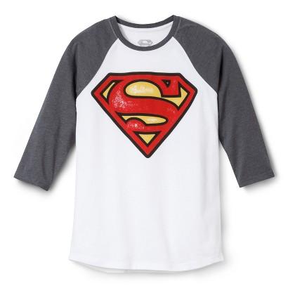 Superman Men's Raglan T-Shirt