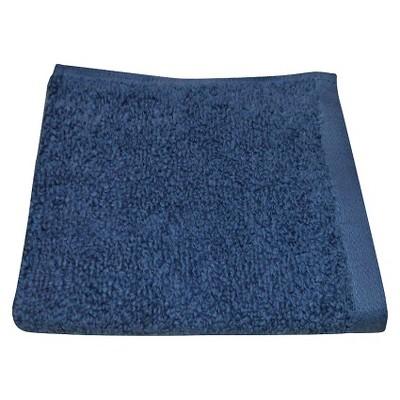 Room Essentials™ Fast Dry Washcloth - Washed Indigo