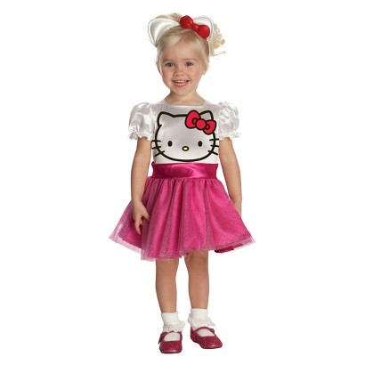 Image of Toddler Girl's Hello Kitty Costume 2T-4T