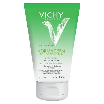 Vichy Normaderm 3-in-1 Cleansing Mask - 4.2 oz