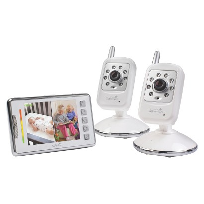 "Summer Infant 3.5"" Multi-View Digital Color Video Baby Monitor"