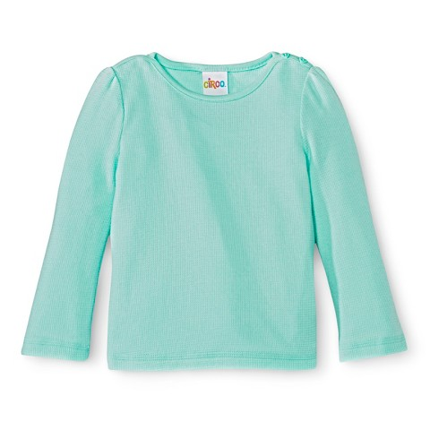 Infant Toddler Girls' Long Sleeve Thermal Shirt
