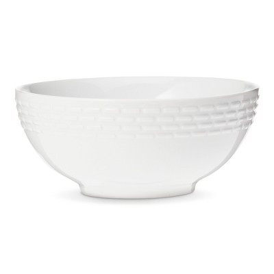 Bowls Threshold White Solid