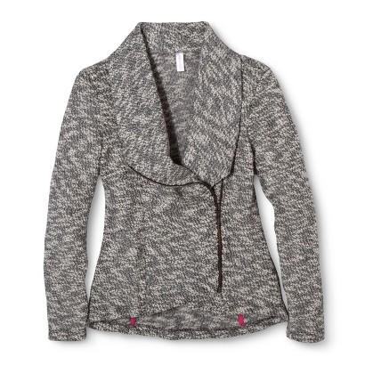 Girls' Fashion Zip-Up Sweater