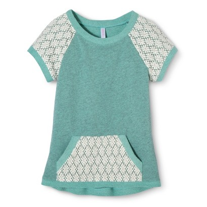 Girls' Lace Detail Top