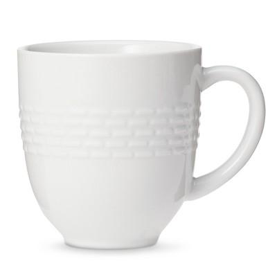 Threshold™ Dashed Line Mug Set of 4 - White
