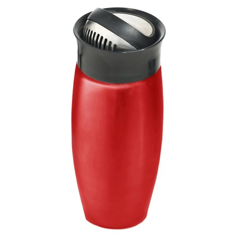 Houdini Flip Top Shaker in Red