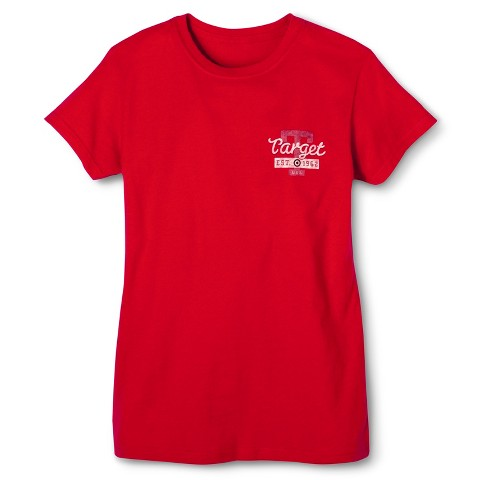 Ladies Short Sleeve Fitted Target 62 T-Shirt