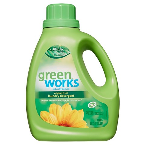 Green Works Free & Clear Laundry Detergent 90 oz