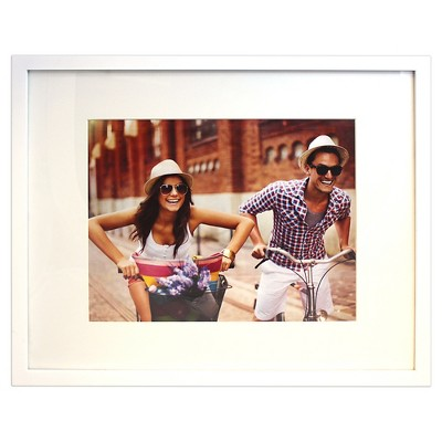 "Frame with Mat White 11""x14"" - Room Essentials™"