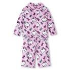 Toddler Girls' Hello Kitty Long Sleeve Button Down Pajamas
